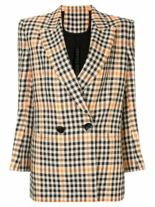 Petar Petrov double-breasted check blazer - Multicolour