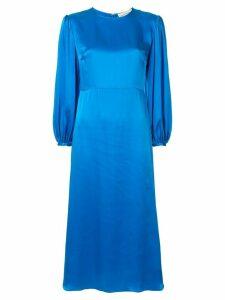 Mansur Gavriel silk midi dress - Blue