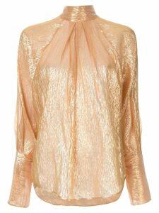 Petar Petrov Brigit blouse - Gold