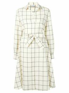 PS Paul Smith tie waist dress - White