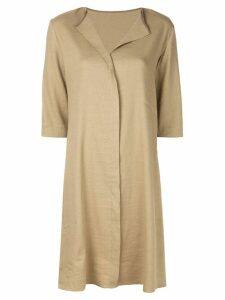 Peter Cohen classic shirt dress - Brown