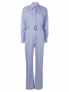 Alberto Biani striped all in one - Blue
