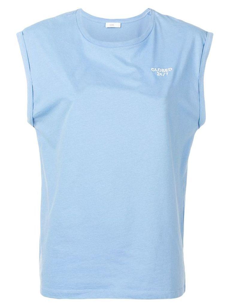 Closed logo T-shirt - Blue