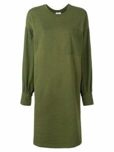 Closed crewneck jersey dress - Green