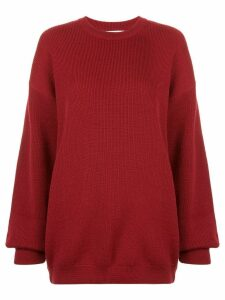 Strateas Carlucci oversized jumper - Red