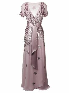 Temperley London Starlet wrap dress - Purple