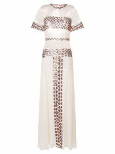 Temperley London Luminary dress - Neutrals