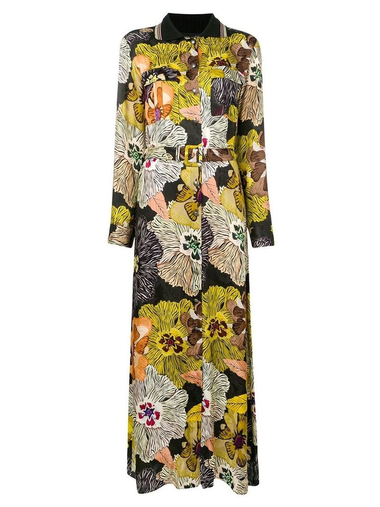 Etro floral print dress - Black
