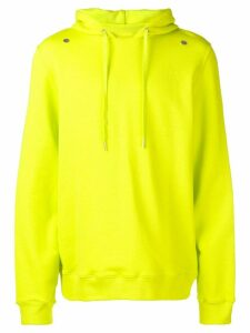 Zilver Hoodie in Organic Cotton - Lime Green