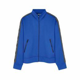 Kenzo Blue Logo Jersey Jacket