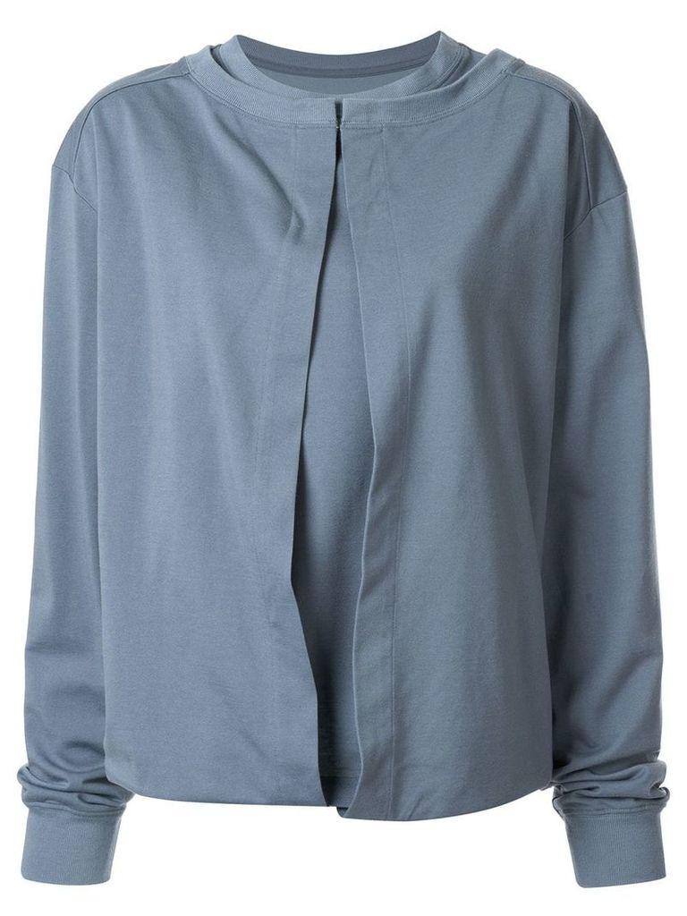 Irene waist cloth T-shirt - Blue