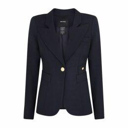 Smythe Duchess Navy Wool Blazer