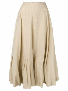 Acne Studios Pleated skirt - Neutrals