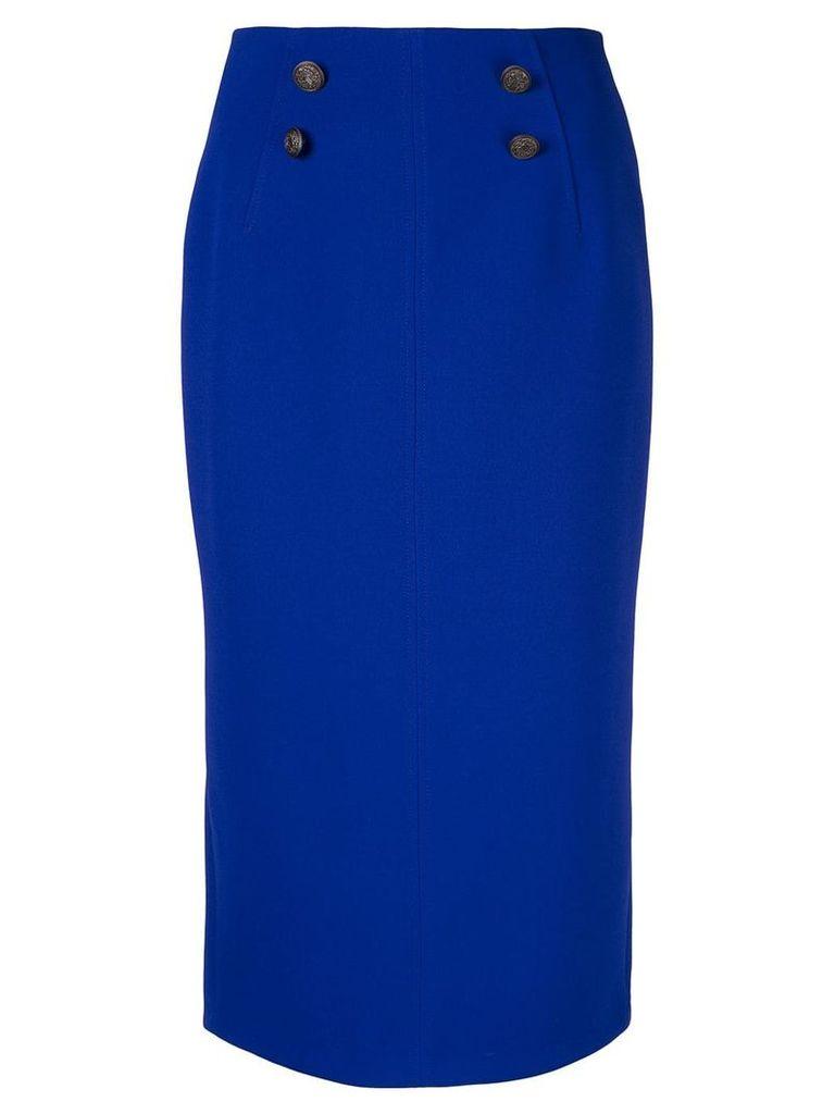 Ginger & Smart Suffuse midi skirt - Blue