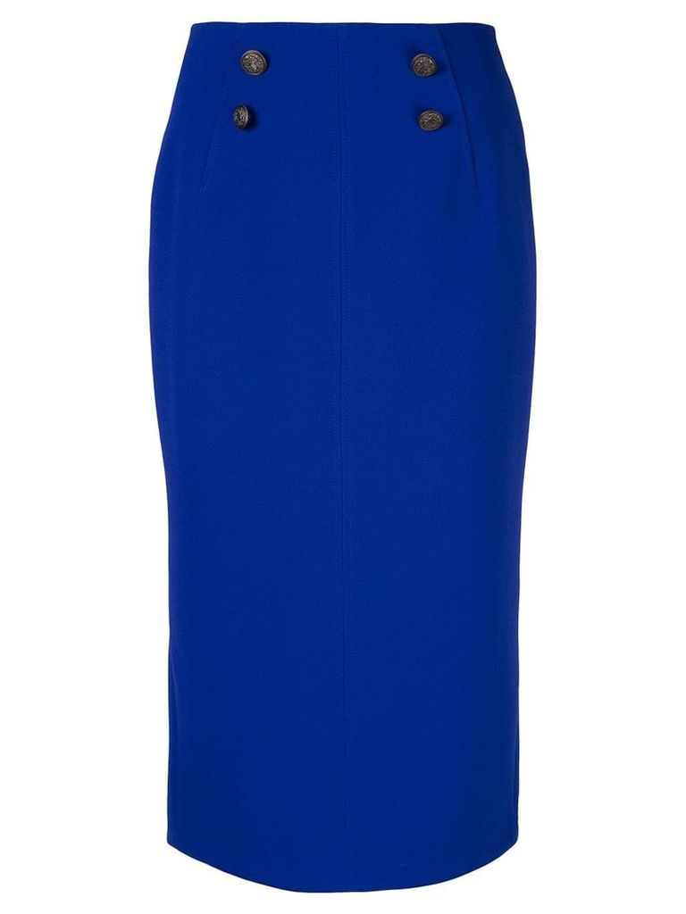 GINGER & SMART Suffuse midi skirt - Blue