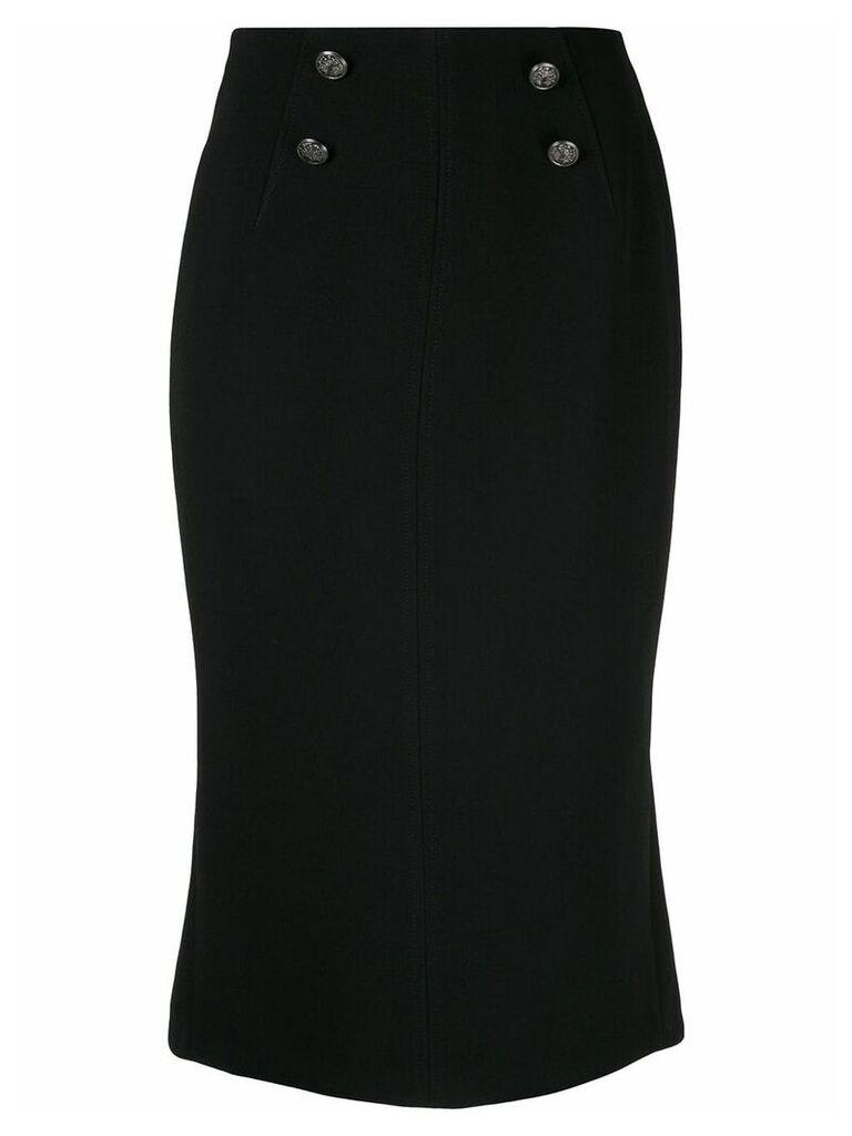 GINGER & SMART Suffuse midi skirt - Black