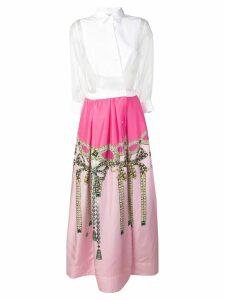 Sara Roka Jinny jewel-print dress - Pink