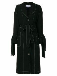 Loewe belted duster coat - Black