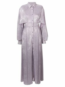 Talbot Runhof Sobara dress - Purple