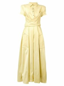 Talbot Runhof Sorrentina dress - Yellow