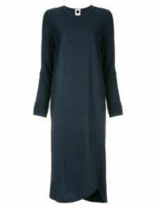 Bassike plain T-shirt dress - Blue