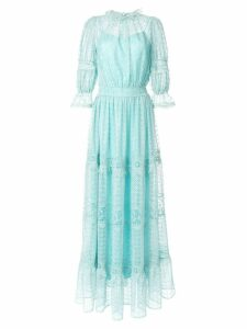 Copurs macramé lace dress - Blue