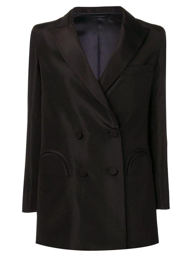 Blazé Milano pocket detail blazer - Black
