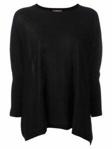 N.Peal flared sweatshirt - Black