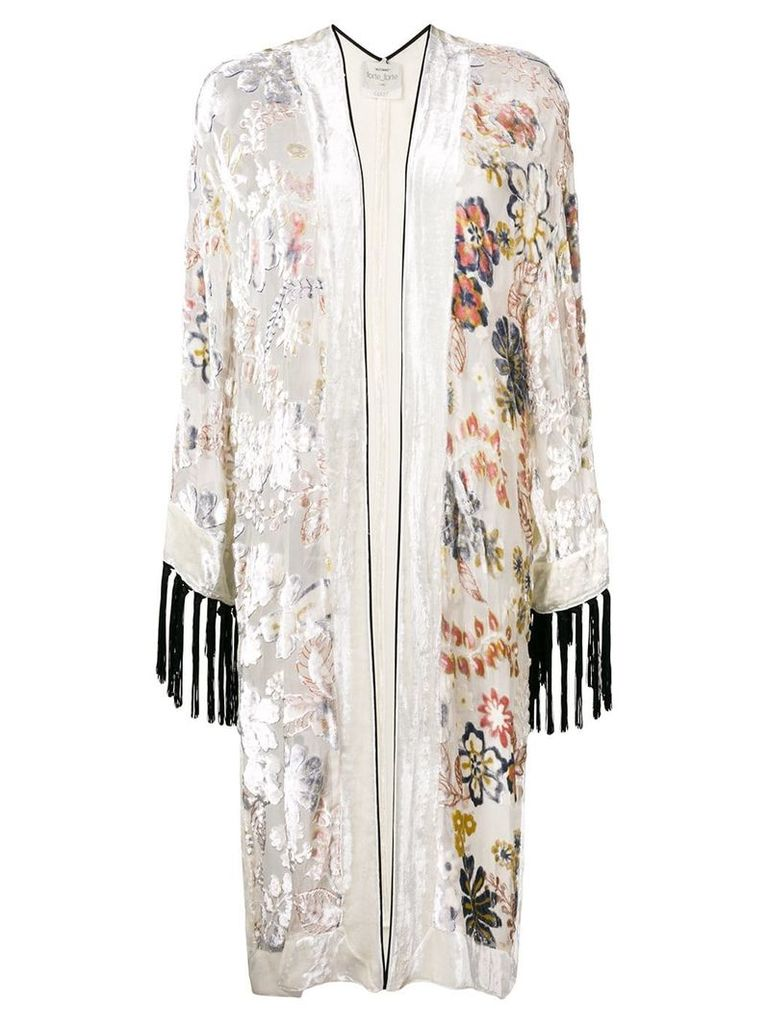 Forte Forte floral cardigan - White