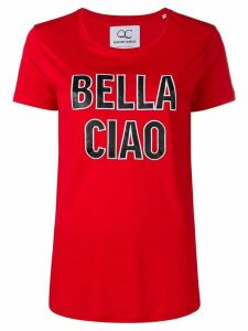 Quantum Courage 'Bella Ciao' T-shirt - Red