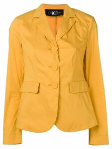 Luisa Cerano single-breasted blazer - Yellow