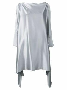 Gianluca Capannolo asymmetric hem dress - Grey