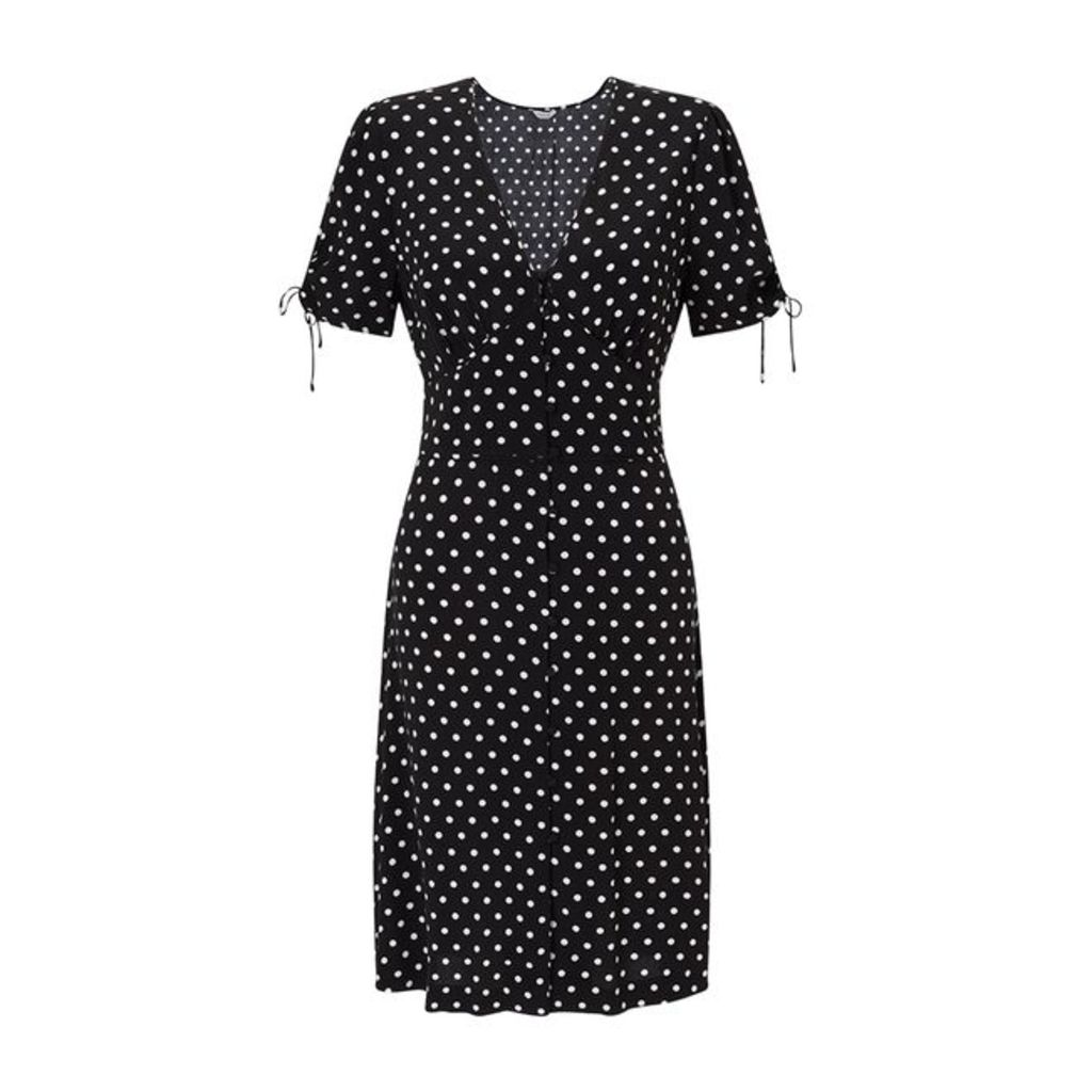Jigsaw Spot Tea Dress