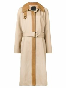 Givenchy single-breasted trench coat - Brown