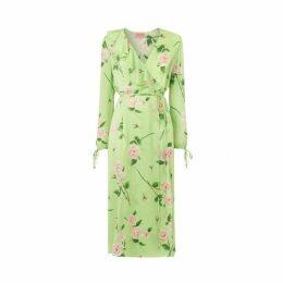Kitri Nita Rose Print Wrap Dress