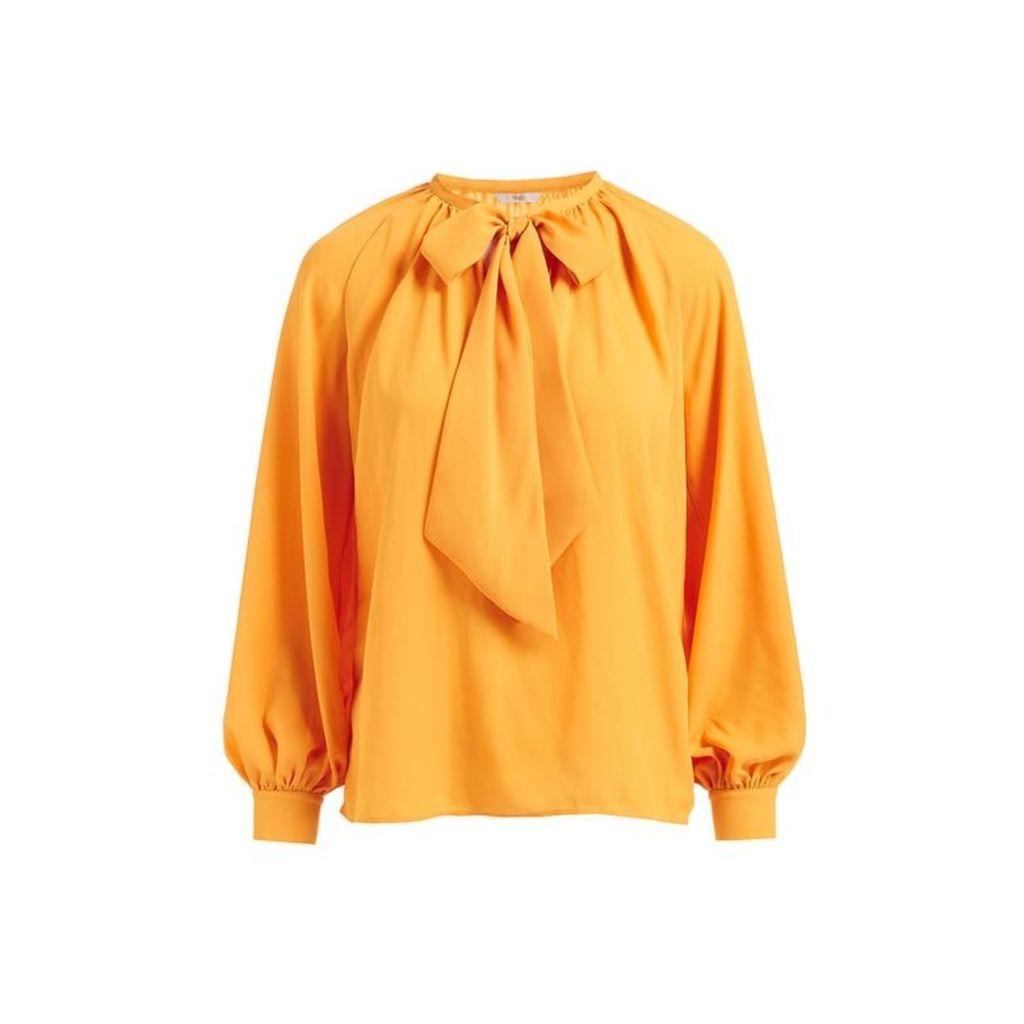 WtR Delysia Yellow Bow Blouse