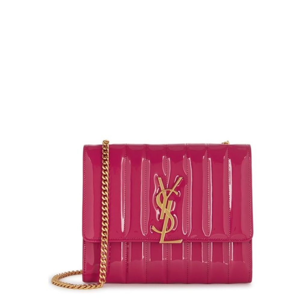 Saint Laurent Vicky Hot Pink Cross-body Bag