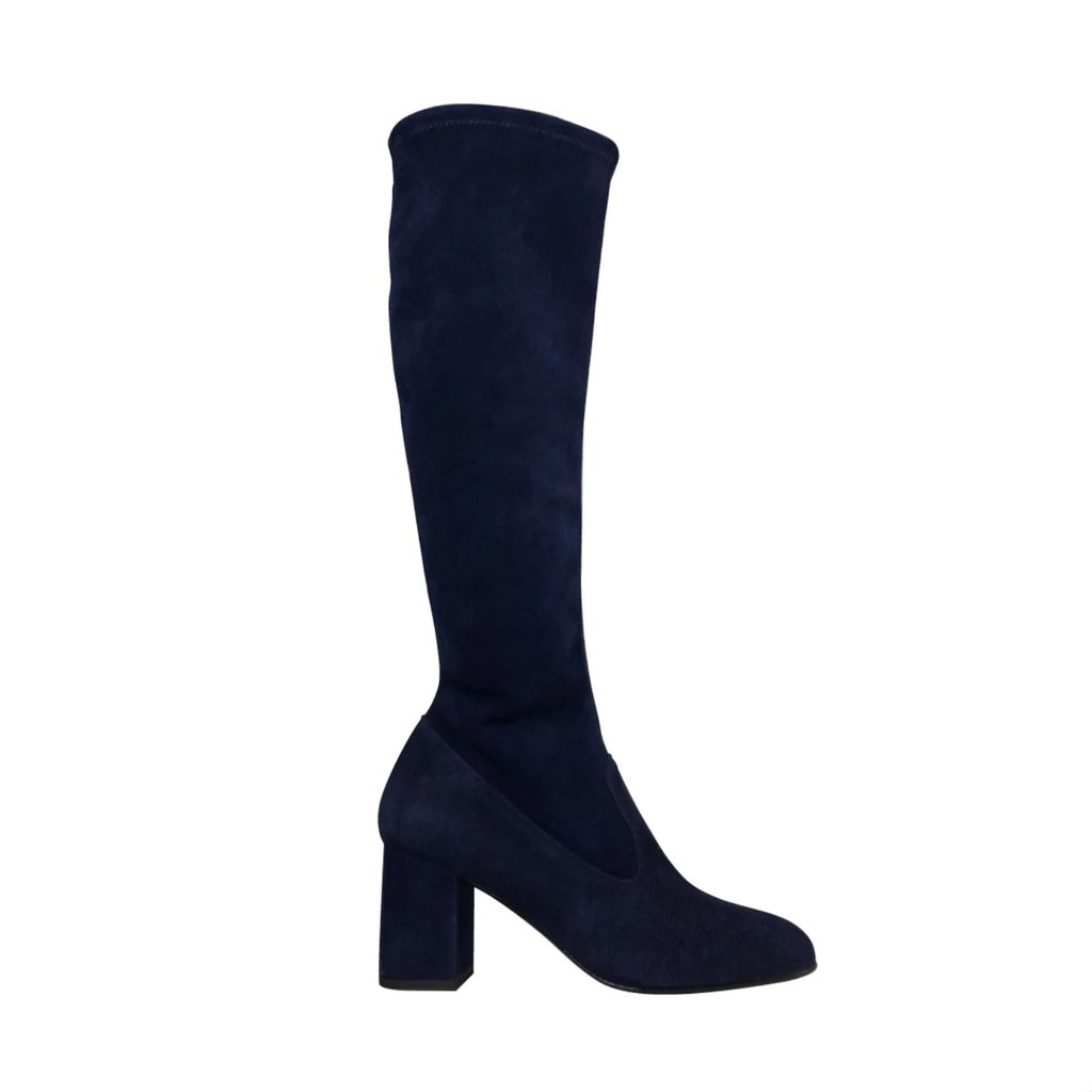 PAISIE - Three-Tone Short Sleeve Ribbed Jumper In White, Lilac & Tan