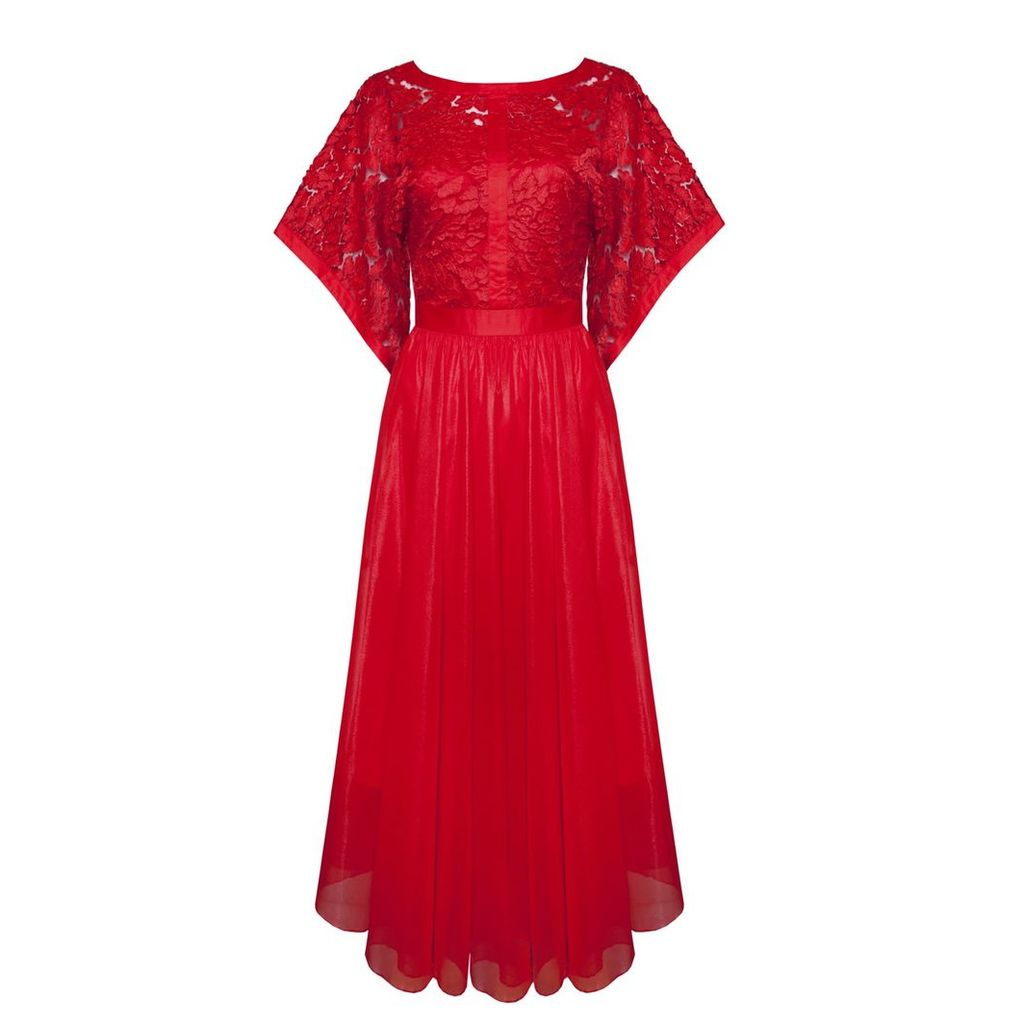 Ukulele - Clara Dress Red