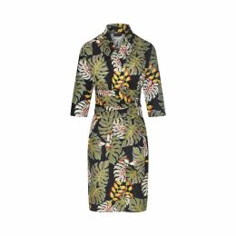 Marianna Déri - Karla Dress Tropical Leaves