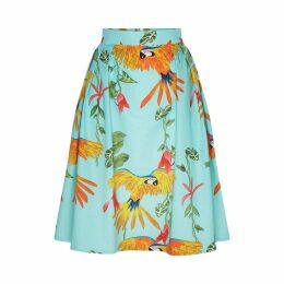 Marianna Déri - Hanna Skirt Parrots Turquoise