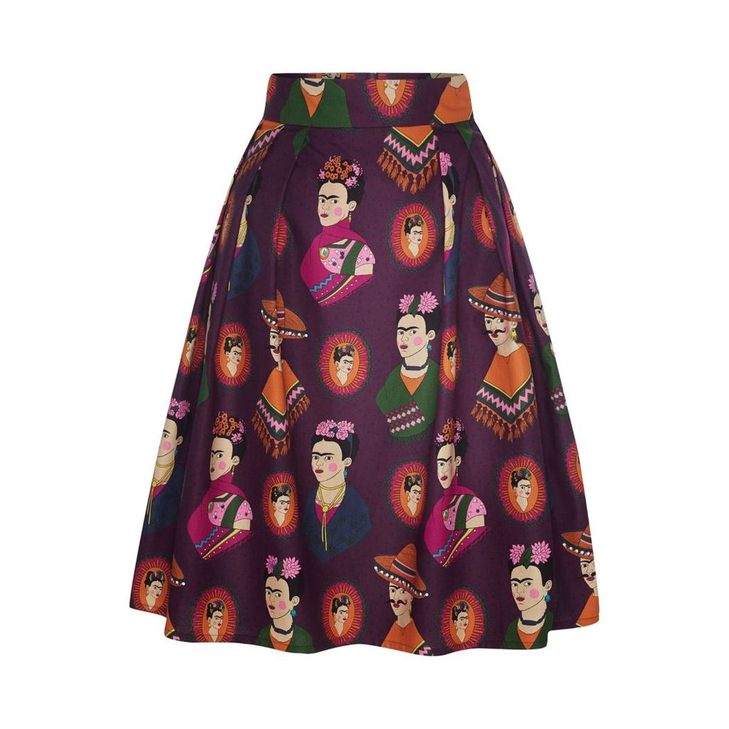 Marianna Déri - Hanna Skirt Frida Forever Purple