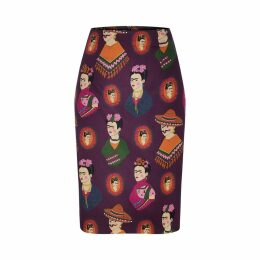 Marianna Déri - Emma Skirt Frida Forever Purple