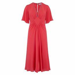 Libelula - Jessie Dress Salmon Georgette