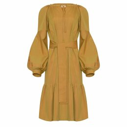 Libelula - Long Tammima Dress Pink Geometric Print
