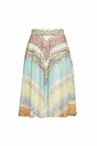Missoni Knit Midi Skirt in Silk