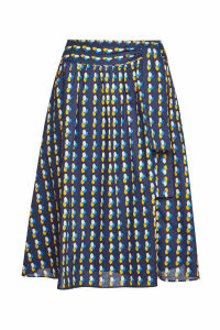A.P.C. Gaia Printed Cotton Skirt