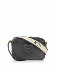 N°21 Designer Handbags, Black Signature Camera Bag
