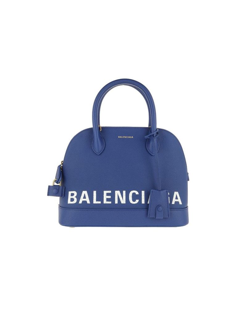 Balenciaga Designer Handbags, Ville Top Handle Bag S Blue