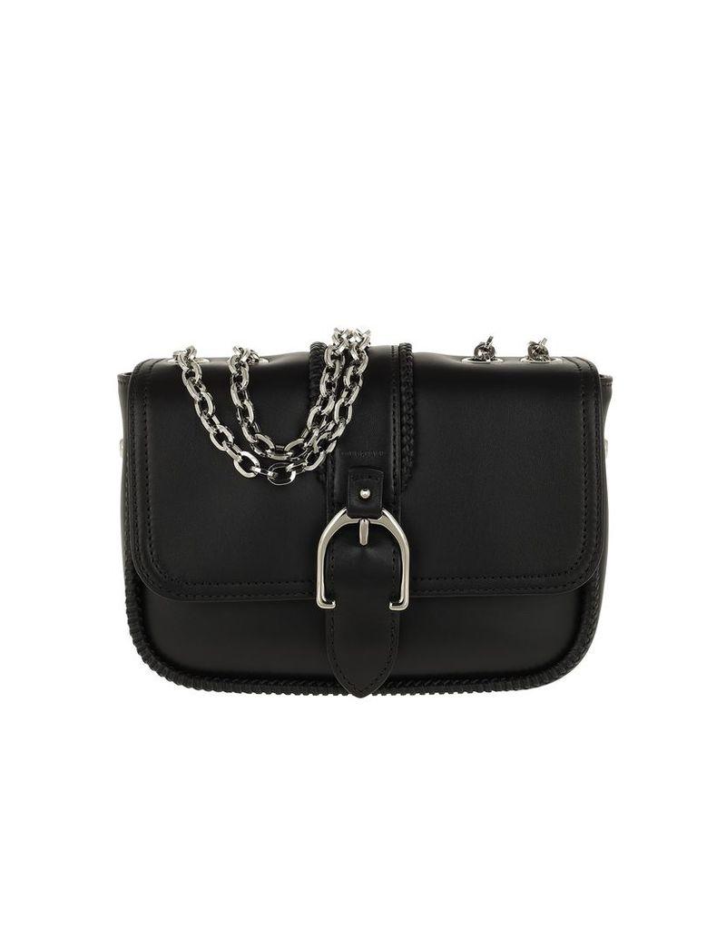 Longchamp Designer Handbags, Amazone Buckle Shoulder Bag Black